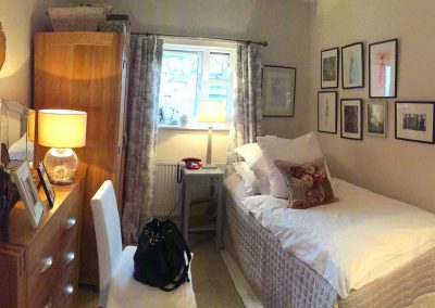 Naunton Park Hays Cottages Almshouses bedroom